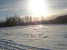 Zabełcze w zimowym obiektywie